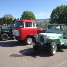 1954 Willys 2 Wheel Drive